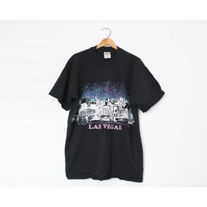 Vintage Las Vegas Nevada Stip Skyline T Shirt